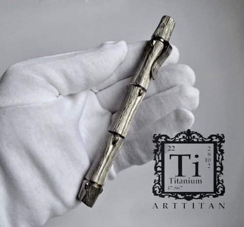 титановая ручка